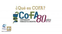 ¿Qué es COFA? Raúl Mascaró, presidente de COFA
