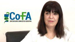 Pcia. de Bs. As.: Incentivo para la instalación de Farmacias en pequeñas localidades  María Isabel Reinoso, Pte. de COFA y del Colegio de Pcia. de Bs. As.