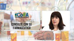 """Medicamentos Faltantes, """"Se hizo un gran tema de una falta puntual"""". -Farm. María Isabel Reinoso-Pte. de C.O.F.A."""