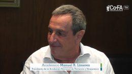 Especialización en Farmacia Comunitaria – Manuel Limeres, Pte. Academia Nacional de Farmacia y Bioquímica