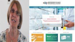 Farm.Laura Raccagni: Nueva página web del Observatorio de Salud, Medicamentos y Sociedad de COFA