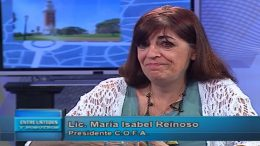 Entrevista a  Maria Isabel Reinoso en Metro