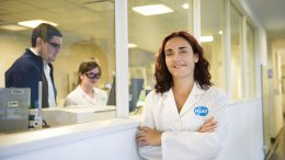 Farmacéutica  Adriana Belardinelli Directora de la planta de  Pfizer Argentina