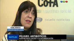ANTIBIÓTICOS: Entrevista a la Farm. Isabel Reinoso para Telefe Noticias