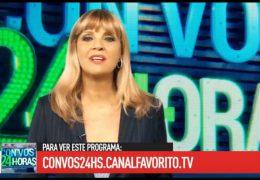 Con Vos 24 Horas – Programa 77 – 08/09/2018