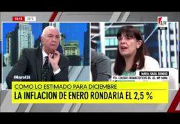 Entrevista a María Isabel Reinoso – Mauro A24 – 09/01/2019