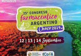25º Congreso Farmacéutico Argentino – Chaco 2019