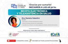 18 – RECETA ELECTRÓNICA Y TELEASISTENCIA EN SALUD